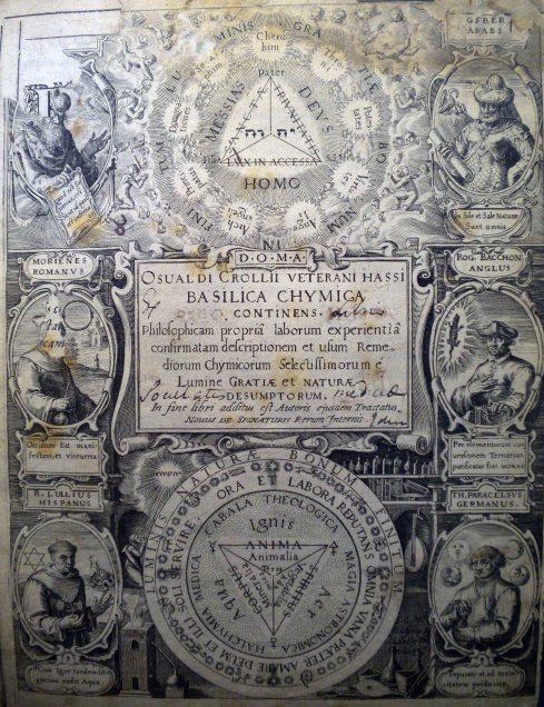Figure 2. Oswald Croll, 'Basilica chymica'
