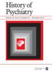 History of Psychiatry December 2013